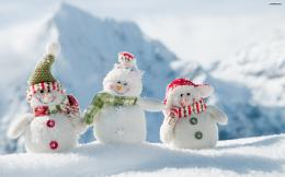 YouWallSnowmen Wallpaperwallpaper,wallpapers,free wallpaper 1715