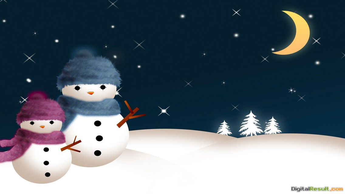 Free Download Christmas Snowman HD wallpapers for iPhone 5 | Touch 493