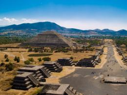 Teotihuacan Pyramids Mexico Teotihuacan Pyramids Mexico 1486