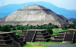 Piramide del Sol, Teotihuacan, Mexico wallpaper download 1246