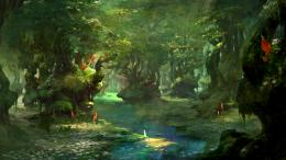 forest, landscape, magic, fantasy :: Wallpapers 1184