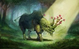 download magical forest creature wallpaper download magical forest 1792