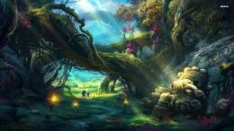 Magical Forest Wallpaper The enchanted … 844