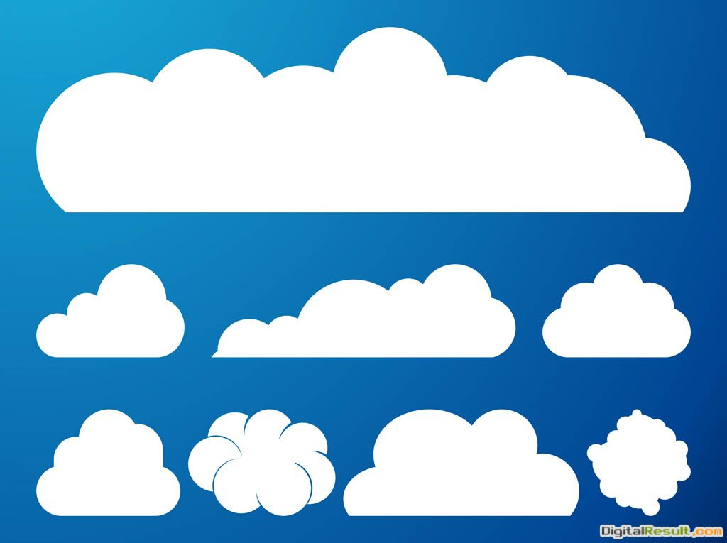Clouds Graphics Set 1771