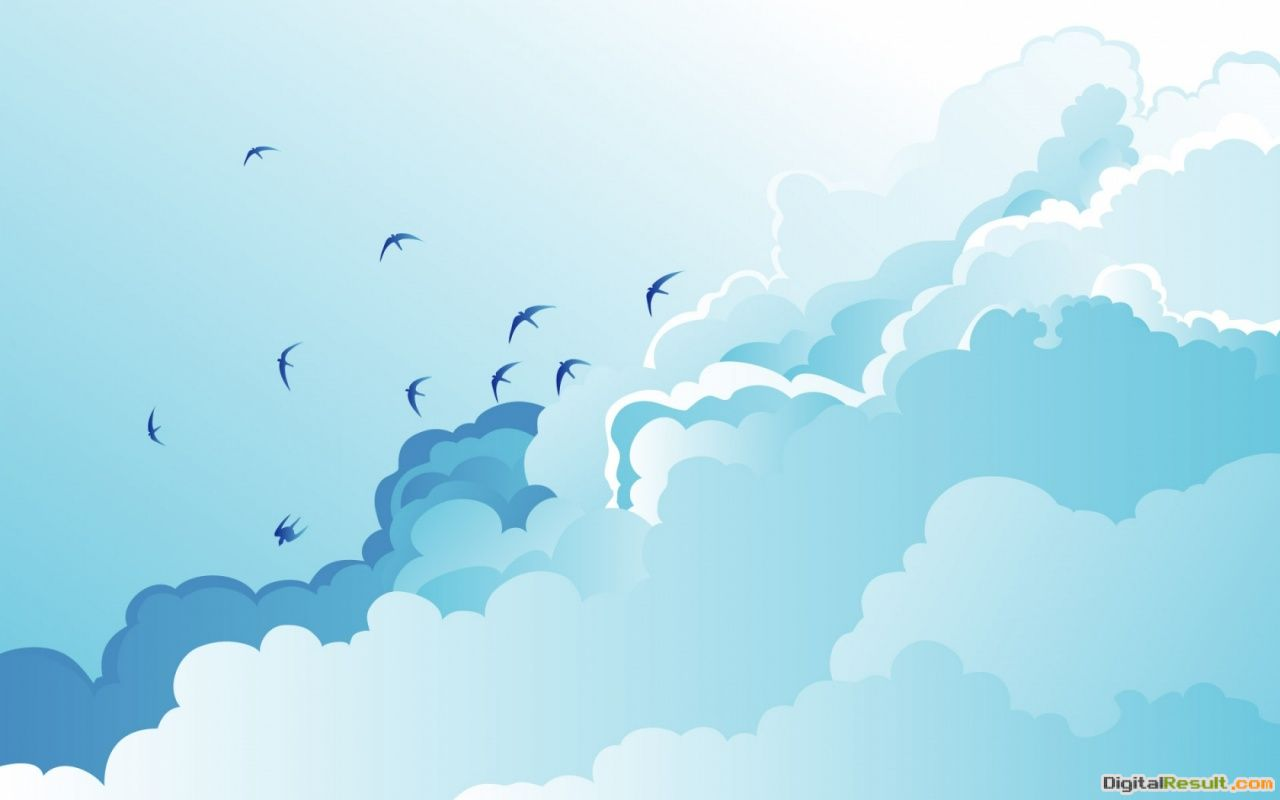 1280x800 Birds vectors desktop PC and Mac wallpaper 668