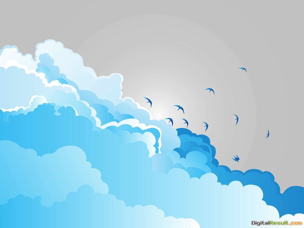 Clouds And Birds 1342
