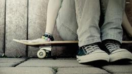 Sitting on a skateboard wallpaperPhotography wallpapers#16633 284
