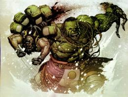 The Daily Desktop: THE HULK VS WOLVERINE! 709