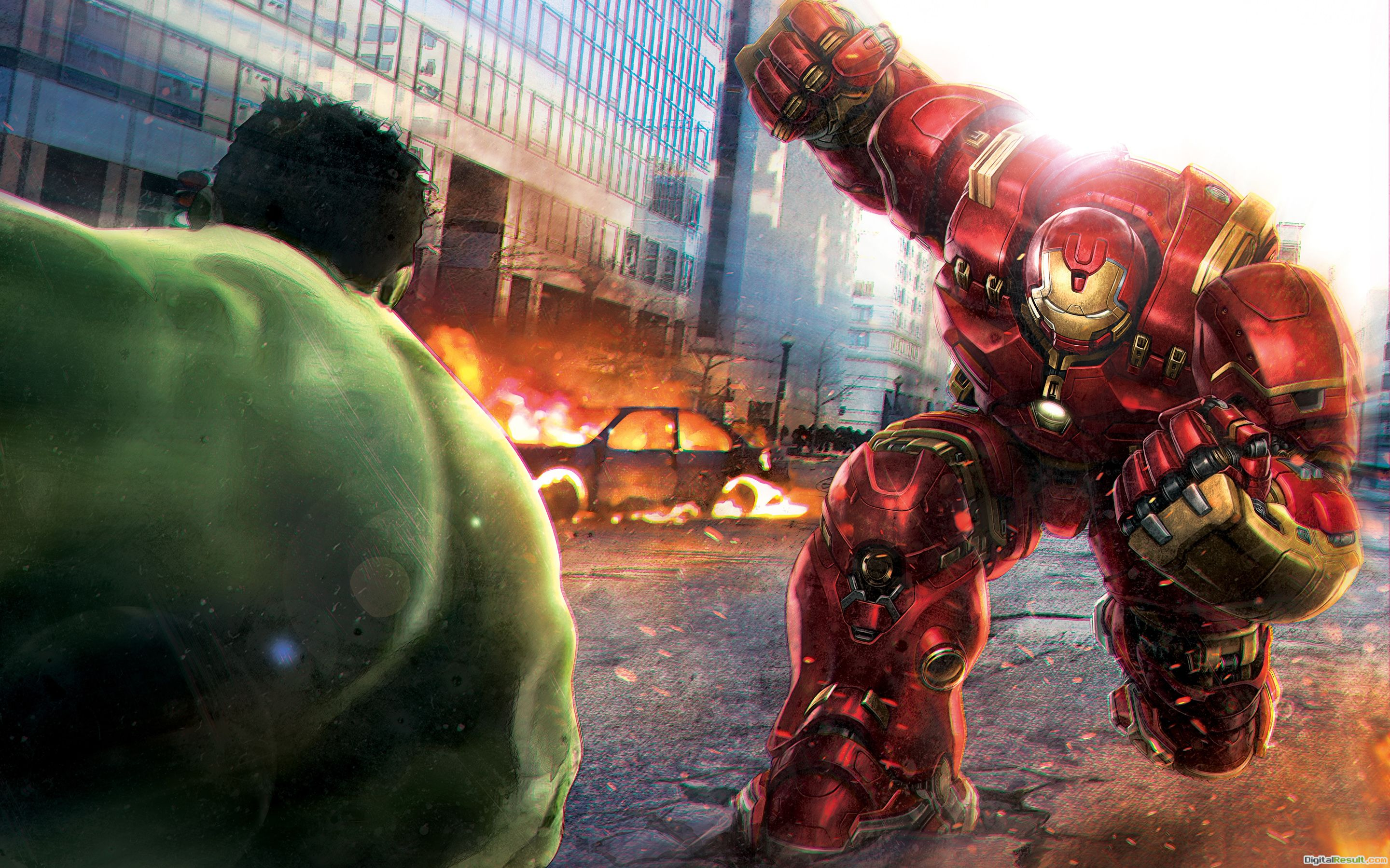 Hulk Vs Hulkbuster Wallpapers | HD Wallpapers 734